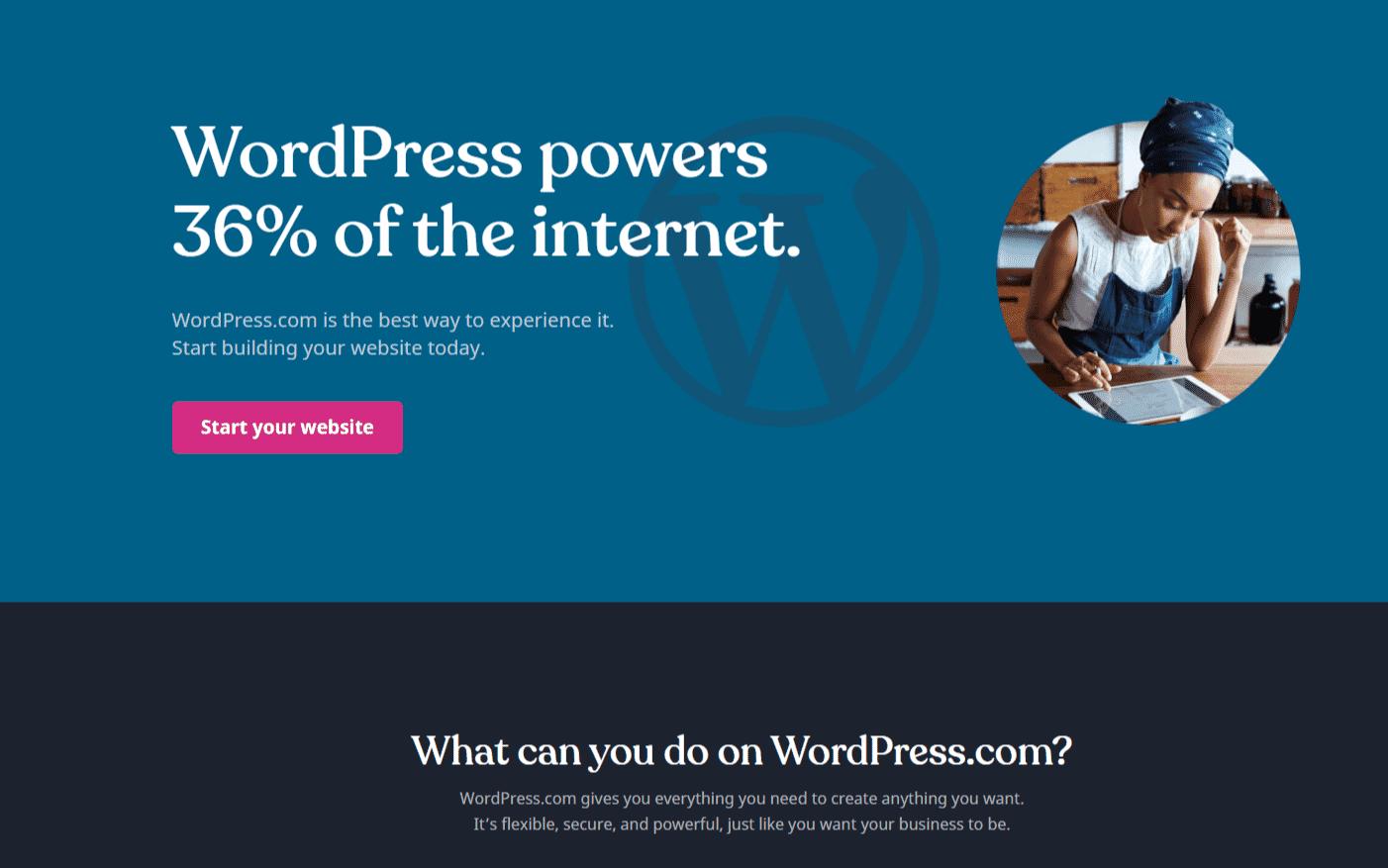 word press website